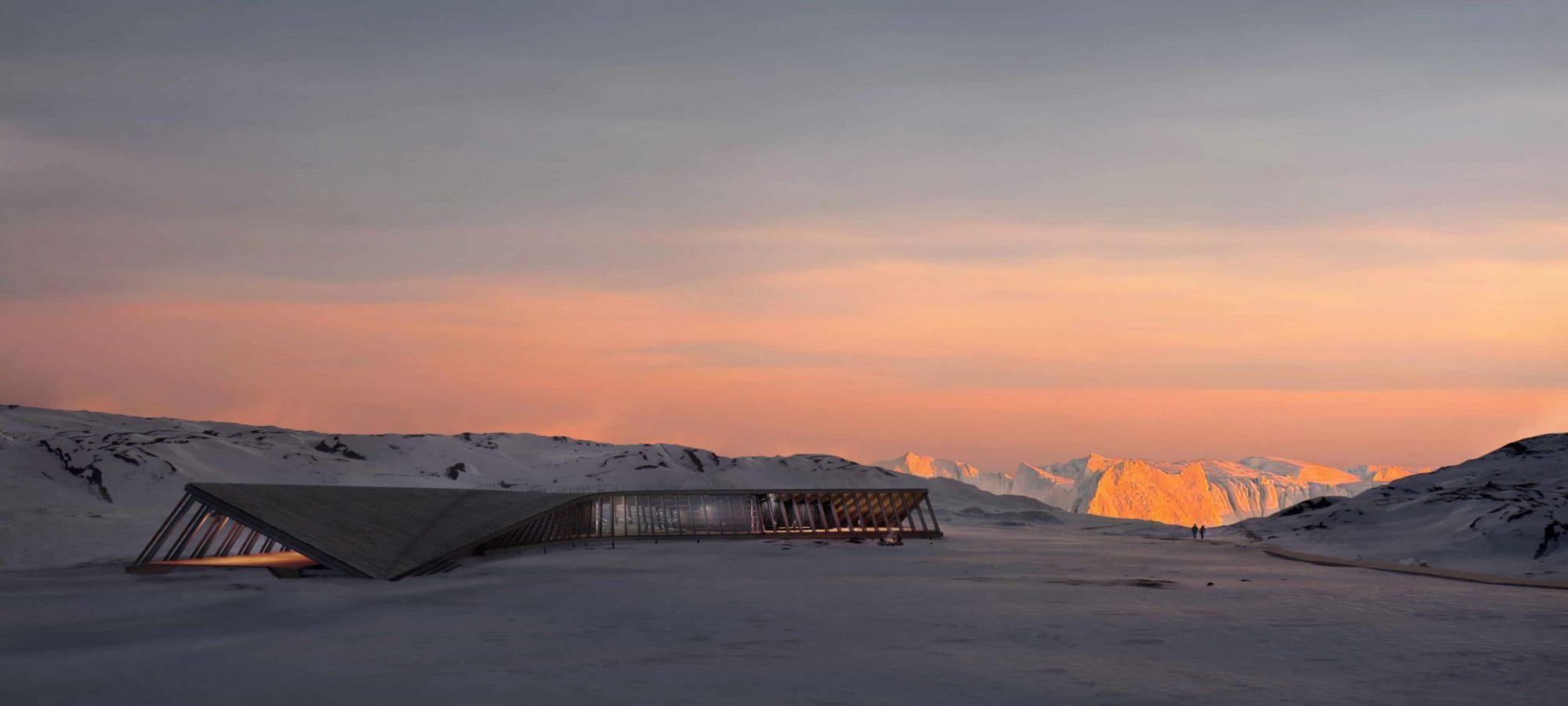 Dorte Mandrup Icefjord Center NordicSunset Update v3 copyright@www.mir_lys-min