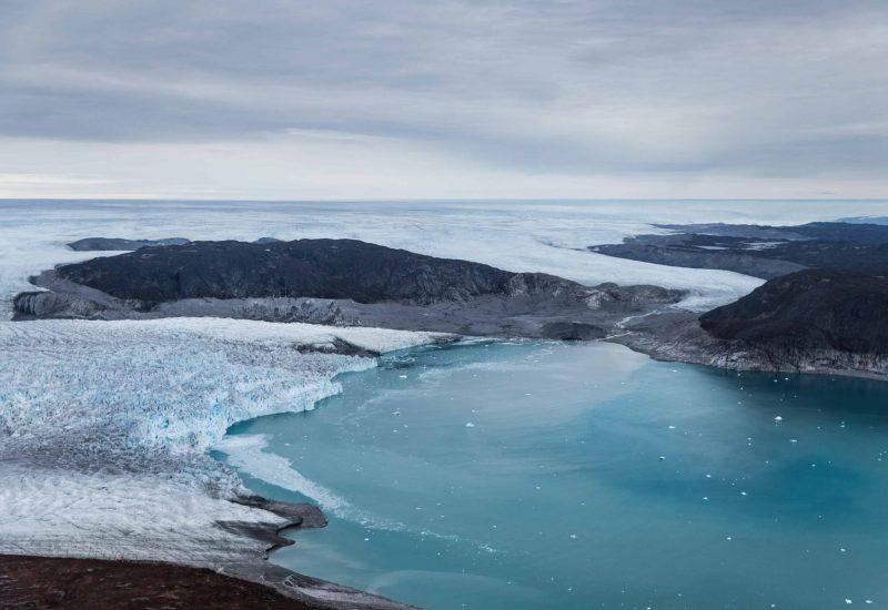 Sermeq Kujalleq meets ocean. Photo - Stian Klo , Visit Greenland-min